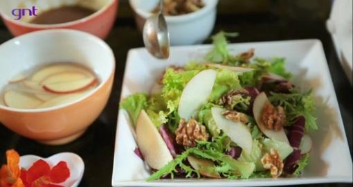 Salada de folhas para acalmar os ânimos